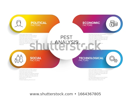 Vetor praga diagrama esquema simples colorido Foto stock © orson