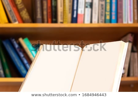 Opened School Book Stock photo © frannyanne
