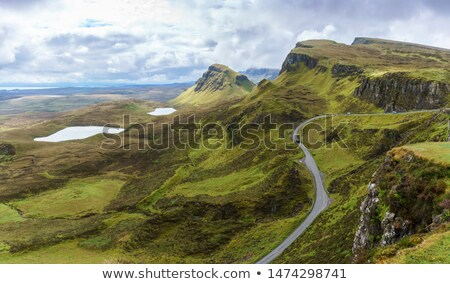 Beautiful Quiraing on Skye Stock photo © Hofmeester