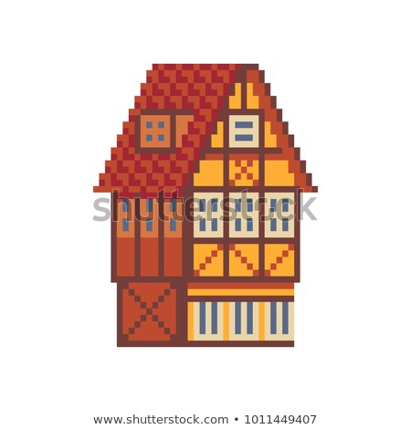 Eight Bit Mansion Stock photo © blamb