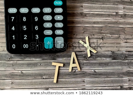 Taxes written in colorful letters Stock photo © mybaitshop