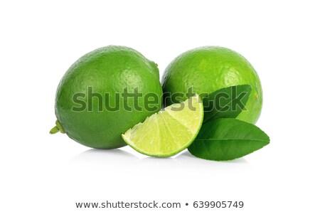 Três verde branco lanches clássico blt Foto stock © zhekos