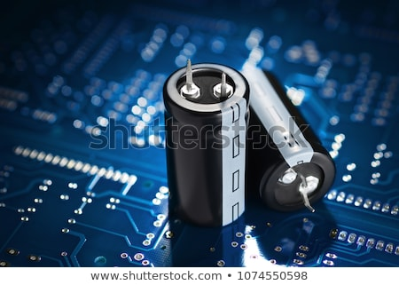 Capacitors Stock photo © Stocksnapper