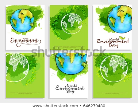 Ecological recycling message Stock photo © photography33