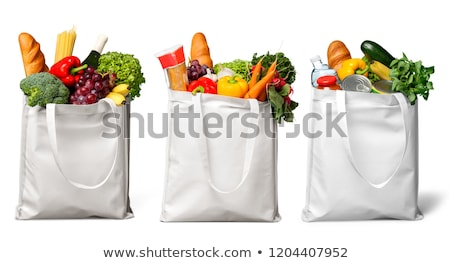Full Grocery bag Stock photo © stevemc