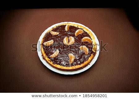 оранжевый темный шоколад мандарин продовольствие апельсинов Сток-фото © klsbear