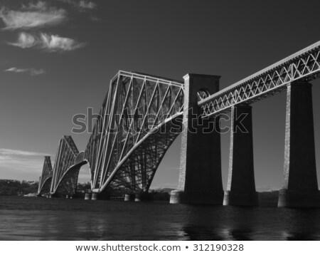 Surrealista paisaje paisaje Escocia dramático nubes Foto stock © prill