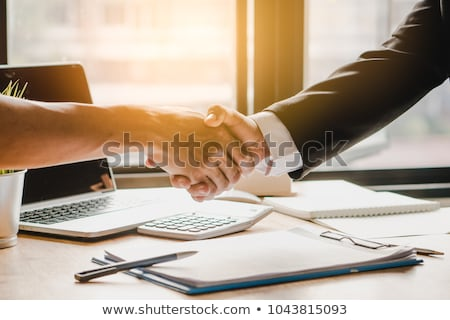 Stock photo: Deal done.