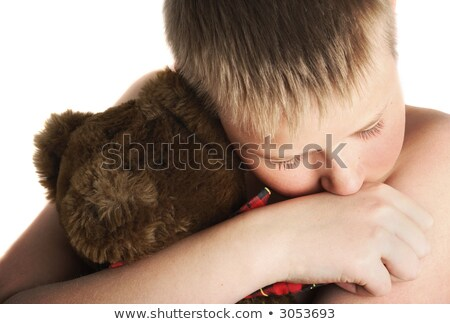 beaten up boy Stock photo © curaphotography