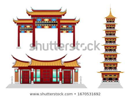 China temple Stock photo © Witthaya