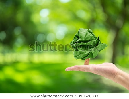 Tree and a male hand Stock photo © vlad_star