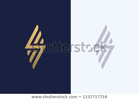 Abstract icon letter i iconen teken brief Stockfoto © cidepix