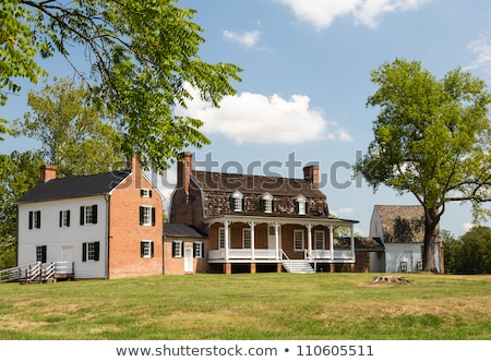 Pierre maison port tabac Maryland historique Photo stock © backyardproductions