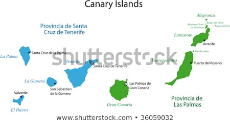 Santa Cruz de Tenerife harbor at Canary Islands Stock photo © lunamarina