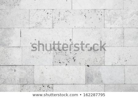 alvenaria · parede · rocha · pedra · branco - foto stock © leonardi