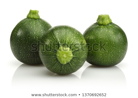 Courgette vert isolé blanche fond Photo stock © ivonnewierink