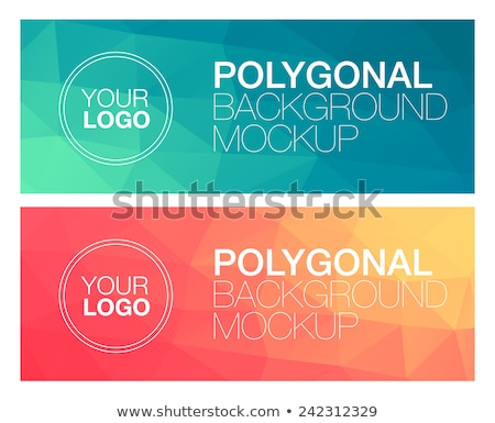 green diamond in gradient back Stock photo © prill