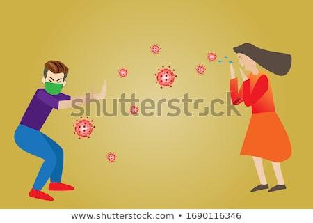 dziecko · alergia · katar · sienny · zimno · kwiaty · wiosną - zdjęcia stock © piedmontphoto