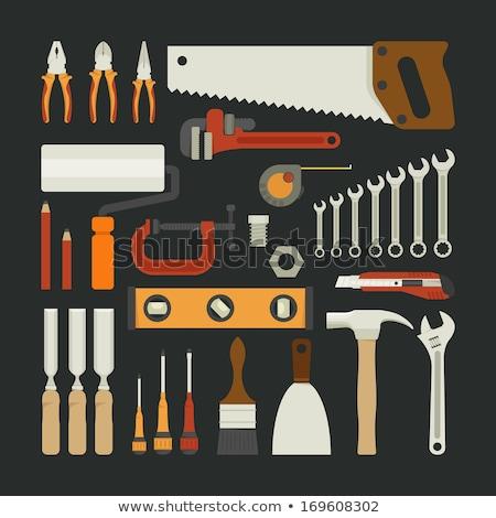 Carpenter c tool box Stock photo © photography33