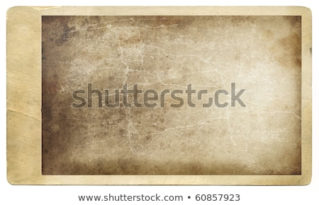 Antique photo against grunged background Stock photo © Sandralise