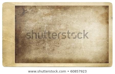 antique photo against grunged background stock photo © sandralise