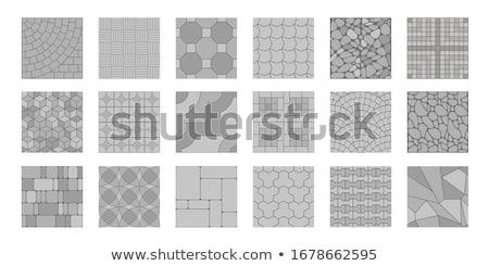 paving slabs seamless texture stock photo © tashatuvango