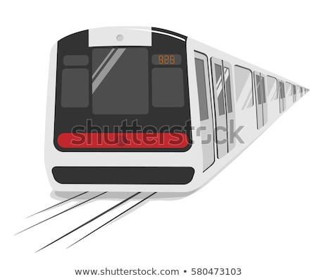 Light rail transportation in Hong Kong Stock photo © kawing921