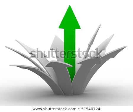 movement direction to success isolated 3d image stock photo © iserg