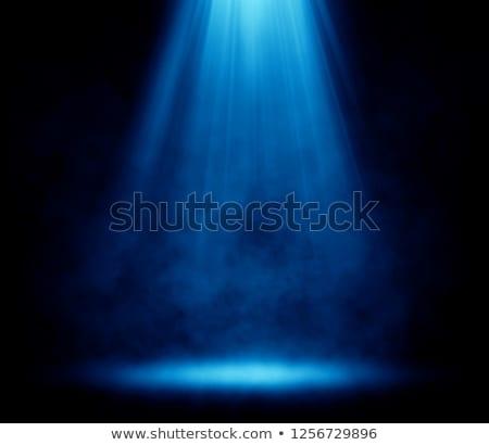 niebieski · etapie · wiszący · oświetlenie · rury · strony - zdjęcia stock © lightsource