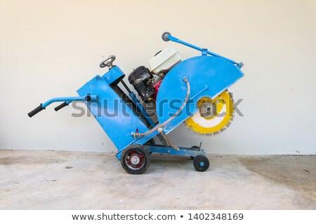 Asfalt araç kullanılmış kaldırım adam Stok fotoğraf © modfos