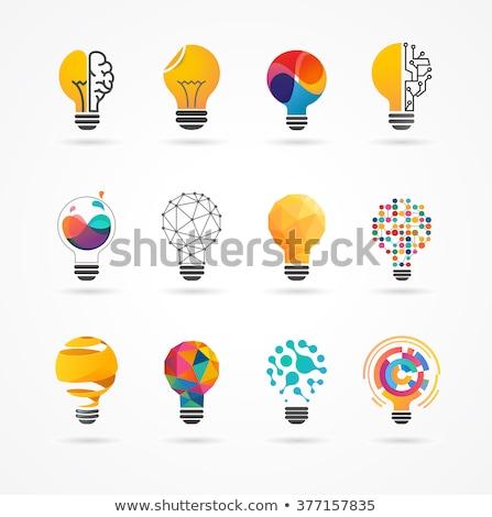 logo · yenilikçi · iş · telefon · sanayi - stok fotoğraf © butenkow