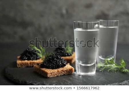 vodka and caviar Stock photo © Mikko