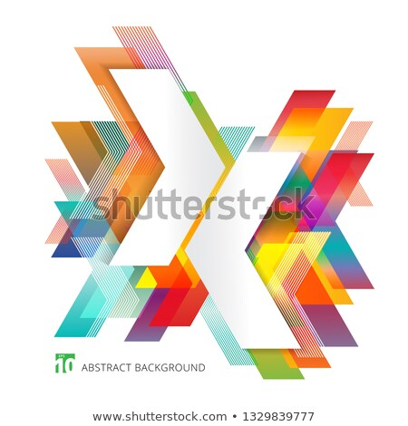 Stock photo: Overlapping Arrows