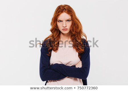 An angry-looking woman Stock photo © photography33