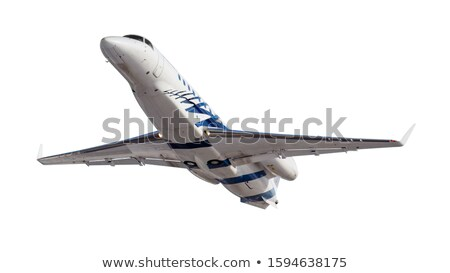 private luxurious aircraft isolated on white stock photo © moses