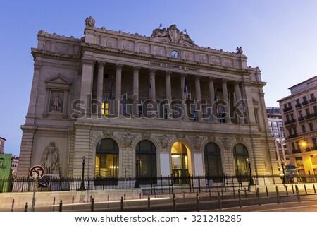 торговли Марсель подробность фасад город Европа Сток-фото © CaptureLight