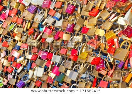 miłości · romantyczny · miasta · verona · Włochy · ściany - zdjęcia stock © dinozzaver