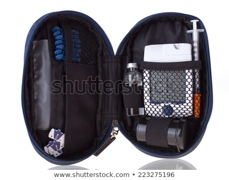 Diabetic test kit Stock photo © simpson33