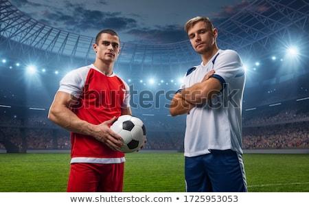 3d man football player Stock photo © almir1968