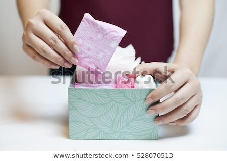 Tampons and pads Stock photo © Obencem