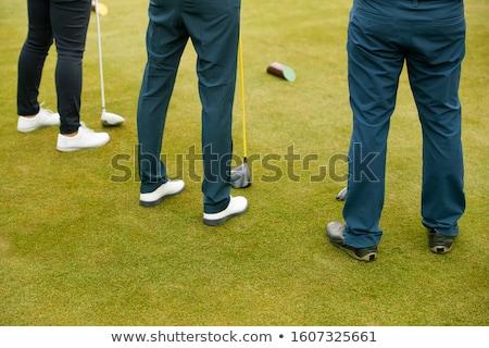 グループ 男性 オフ ゴルフコース 男 男性 ストックフォト © monkey_business