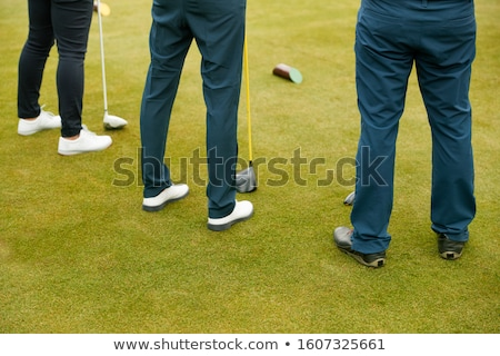 senior · golfer · spelen · golf · mannelijke · vak - stockfoto © monkey_business