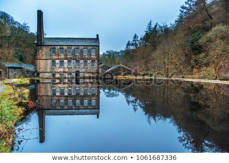 Gibson Mill in Hardcastle Crags nature park, Stock photo © chris2766