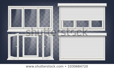 Window With Closed Shutters Stock photo © rhamm