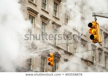 Нью-Йорк мрачный день мнение Manhattan центра Сток-фото © searagen