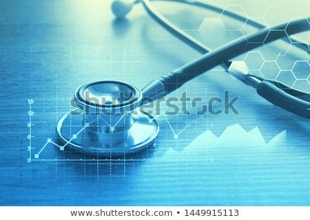 Gesundheit · Budget · rot · weiß · Geld - stock foto © lightsource