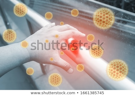 hand germs stock photo © lightsource