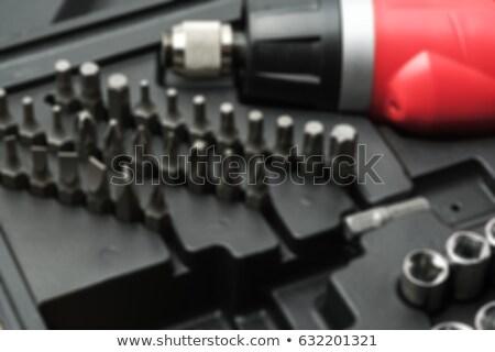 Stopcontact beetje witte werk tool moer Stockfoto © FOKA