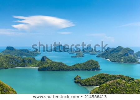 Colorful Little Tropical Island in Thailand, Southeast Asia Stock photo © pzaxe