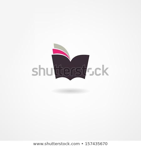 libro · icona · segnalibro · illustrazione · sito · web · design - foto d'archivio © nickylarson974
